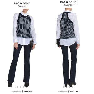 Rag & Bone Open Knit Sweater Small